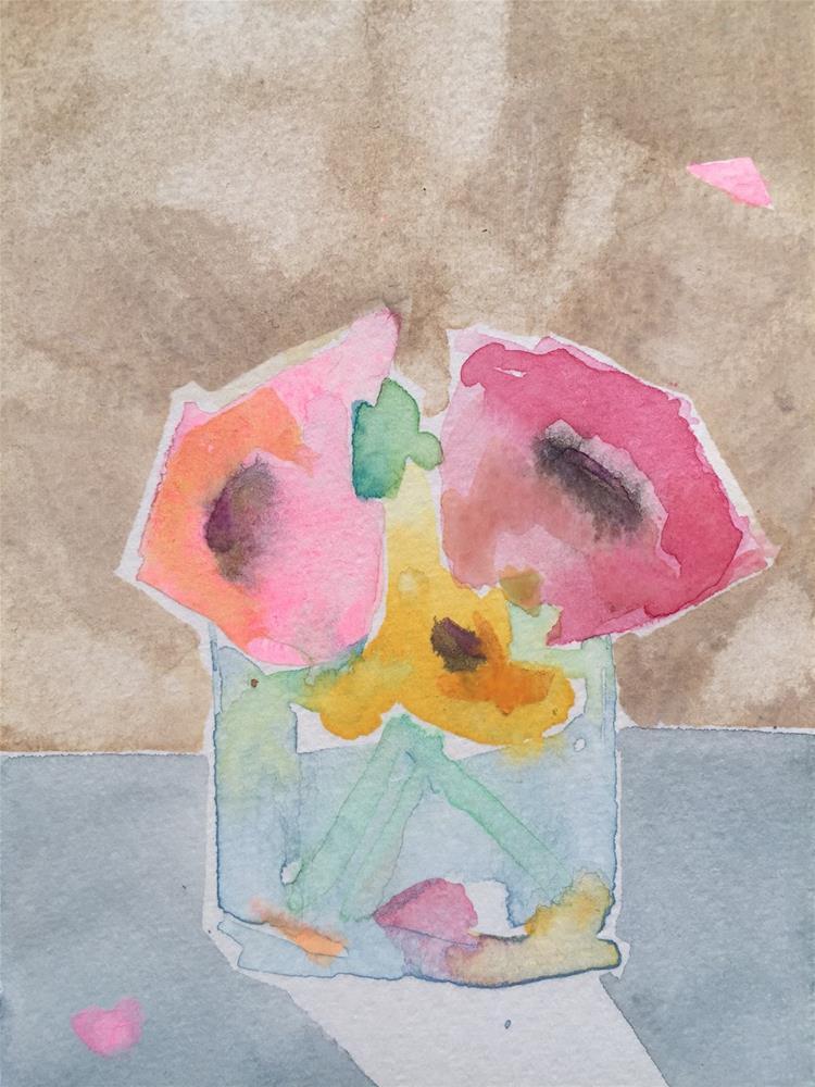 """139 Arranged"" original fine art by Jenny Doh"