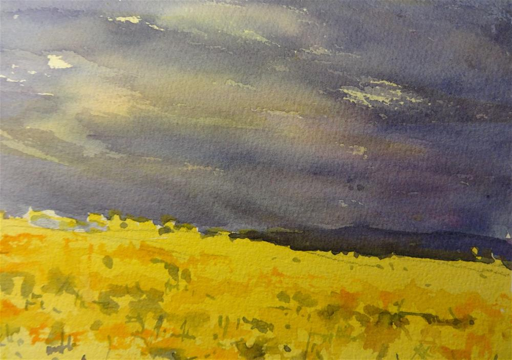 """Storm Coming II"" original fine art by angela scully"