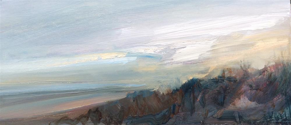"""""""Early Start"""" original fine art by Anne Wood"""
