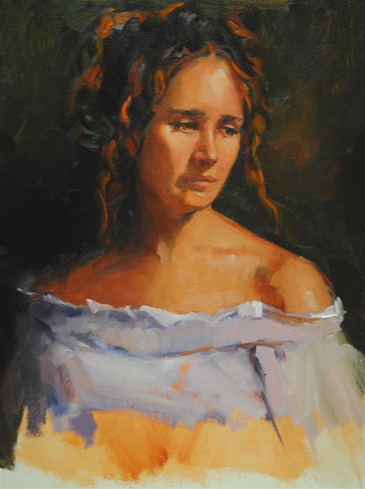 """The Princess of the Trees"" original fine art by Laurie Johnson Lepkowska"