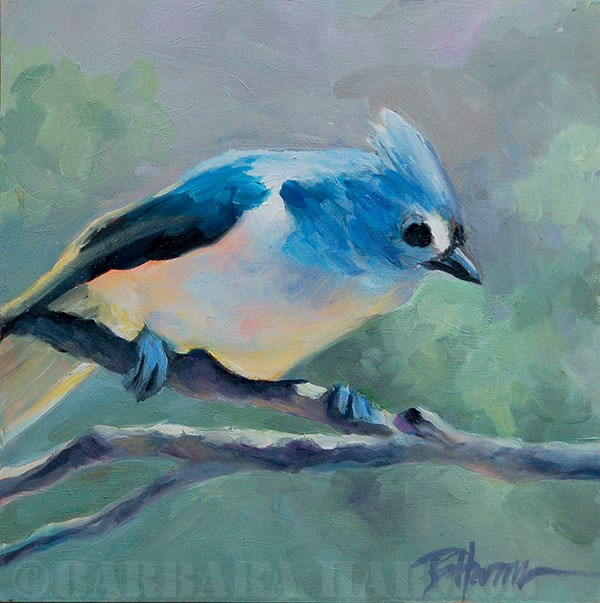 """Overseeing"" original fine art by Barbara Harmon"