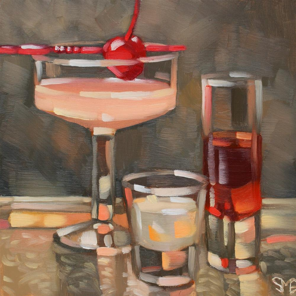 """Cosmo-tology"" original fine art by Sheila Evans"