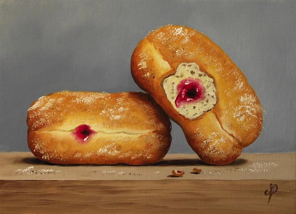 """Jam Doughnuts #3"" original fine art by Jane Palmer"