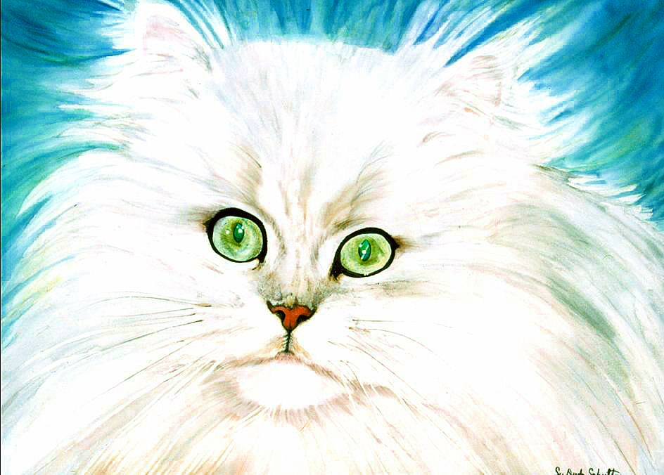 """The Eyes Have it"" original fine art by Susan Duda"