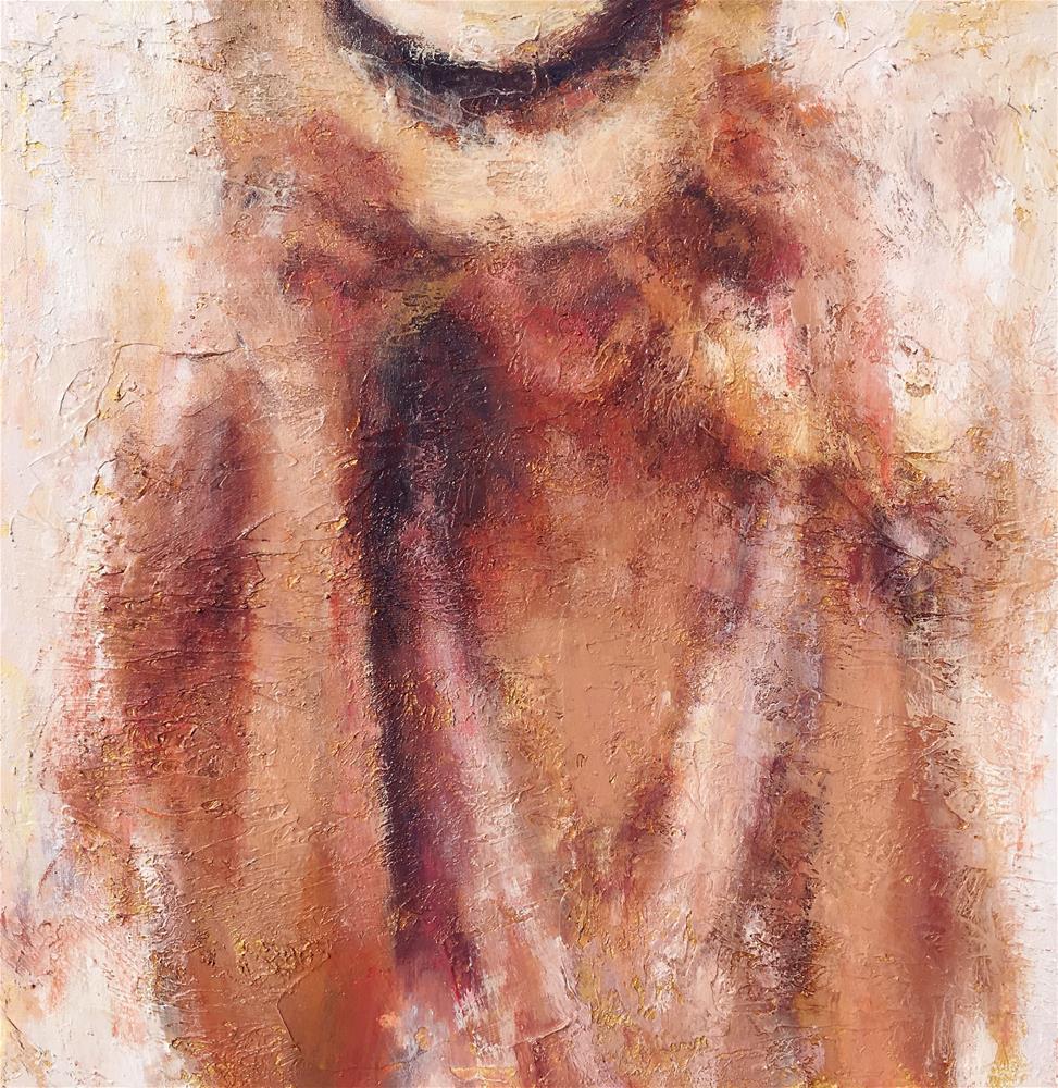 """""""She Wears It Well"""" original fine art by Nava Judith"""
