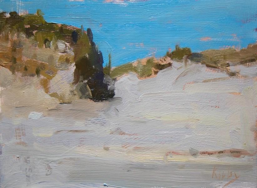 """Sand Dunes at San Luis"" original fine art by Randall Cogburn"