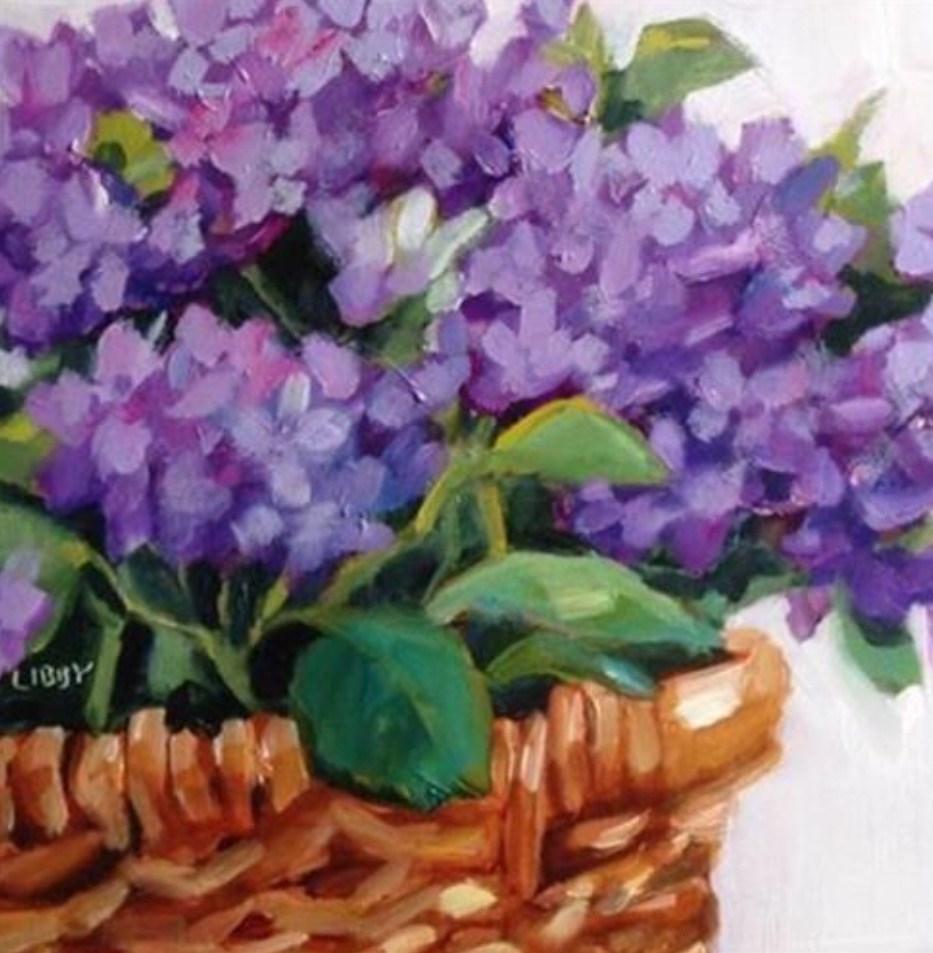 """Prime Basket"" original fine art by Libby Anderson"