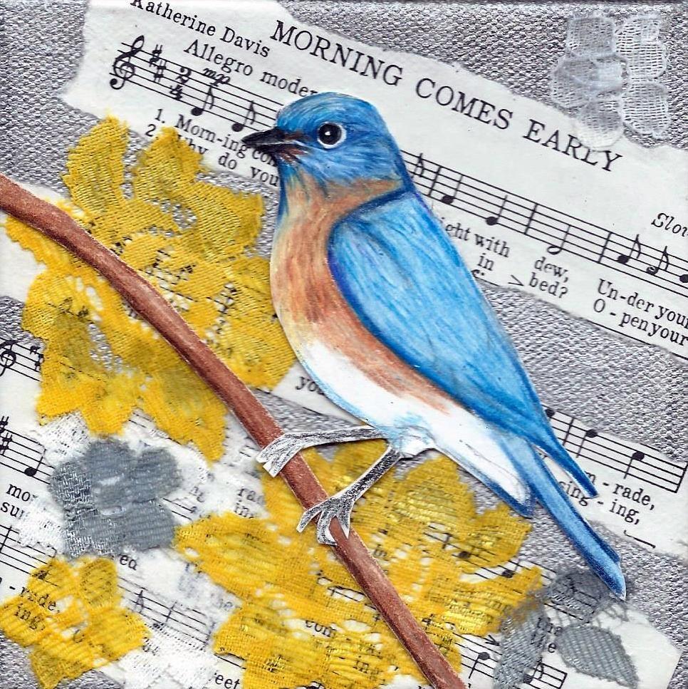 """""""Morning Comes Early"""" original fine art by Lisa Wiertel"""