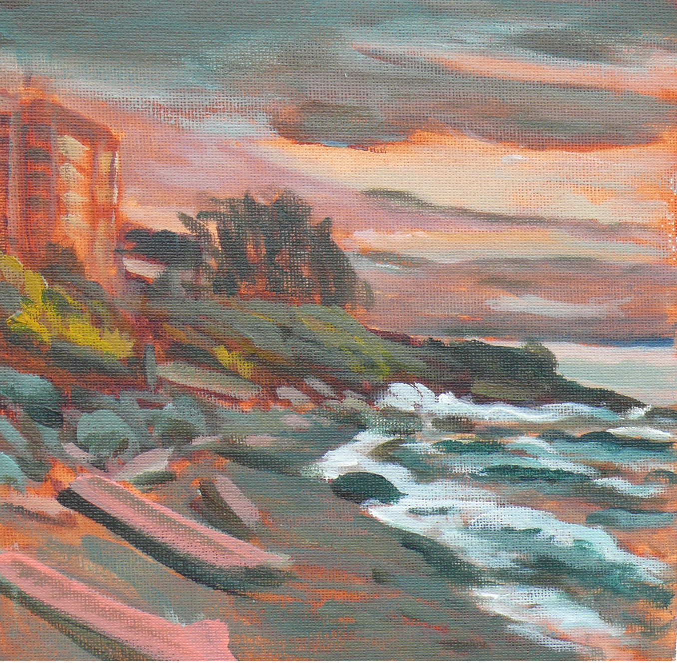 """""""Holland Point Storm"""" original fine art by Darlene Young"""