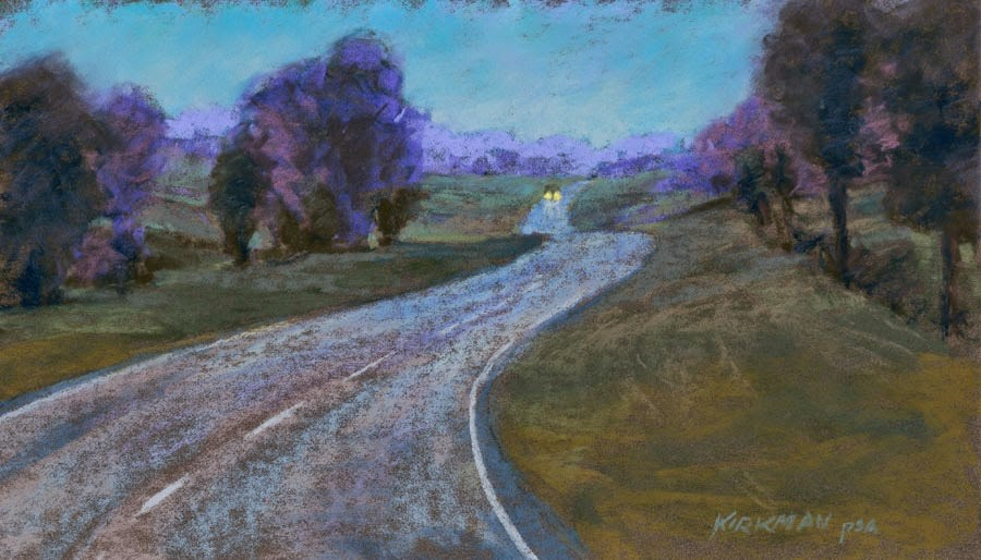 """Road Sketch #33"" original fine art by Rita Kirkman"