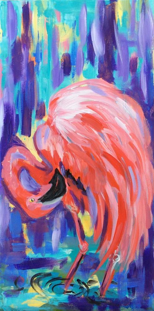 """Look Mingos!"" original fine art by Molly Rohrscheib Hathaway"