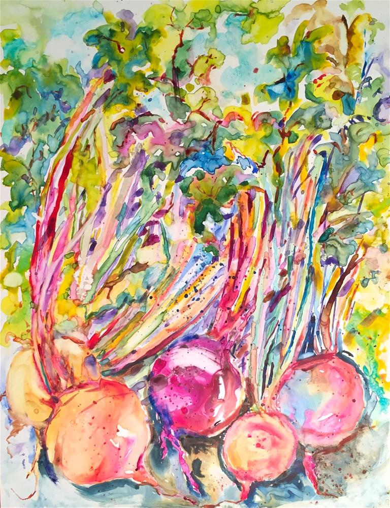 """Beets"" original fine art by jean krueger"