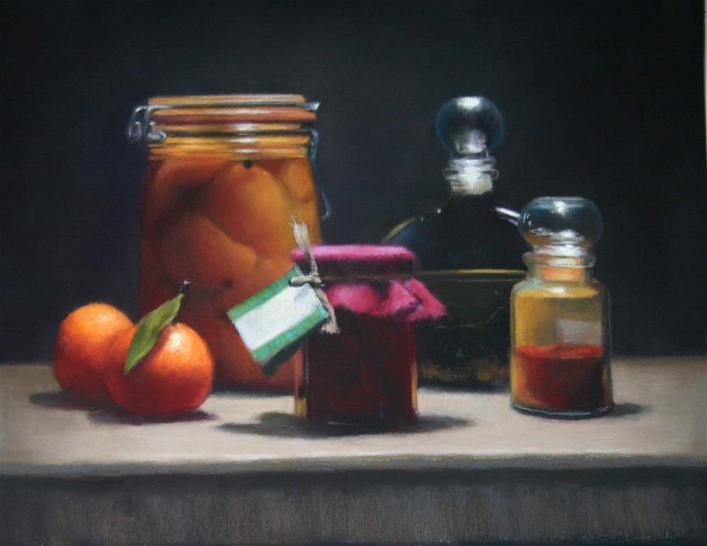 """Bottled"" original fine art by Liz Balkwill"