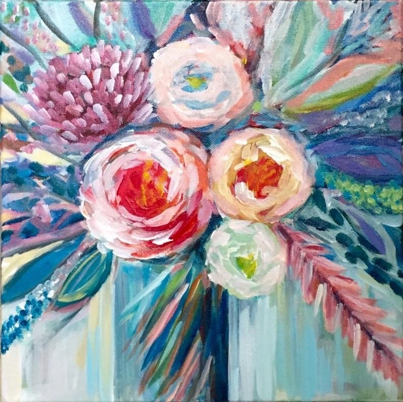 """Pretty Is As Pretty Does"" original fine art by Melissa Gresham"