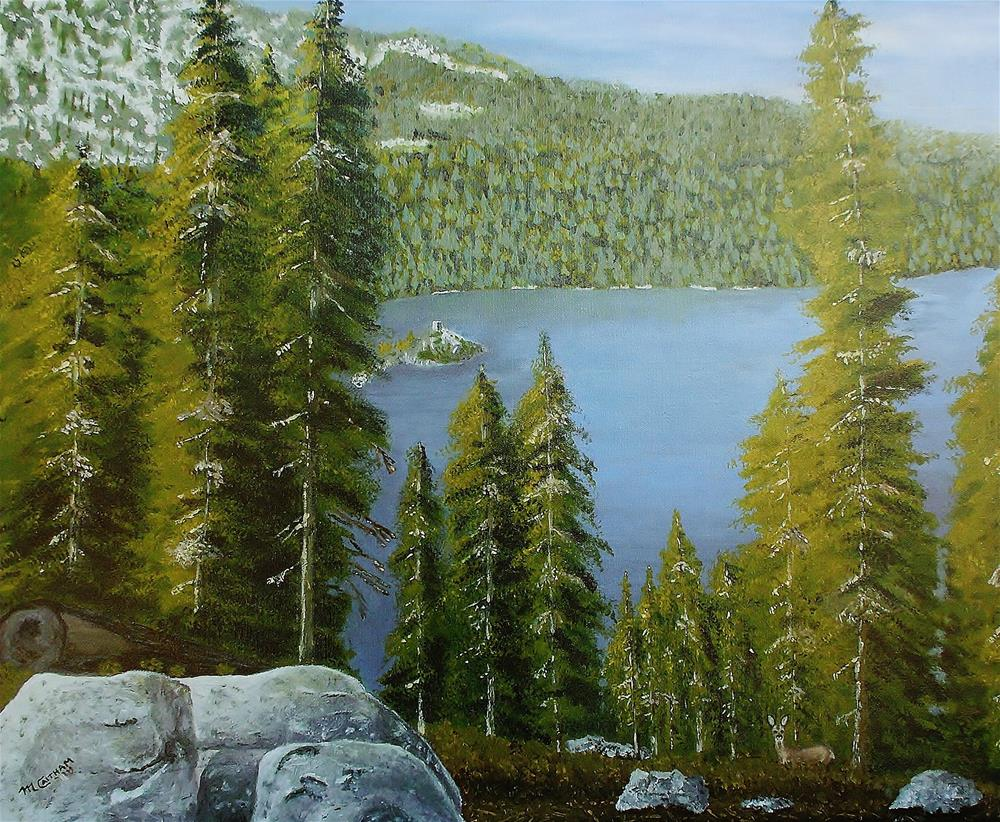 """Emerald Bay Lake Tahoe"" original fine art by Mike Caitham"