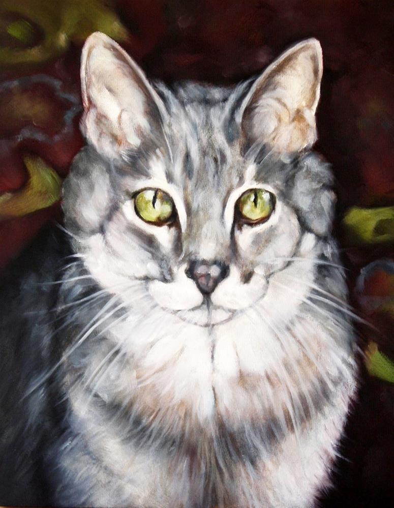 """Intense"" original fine art by Carolyn McQuarters"