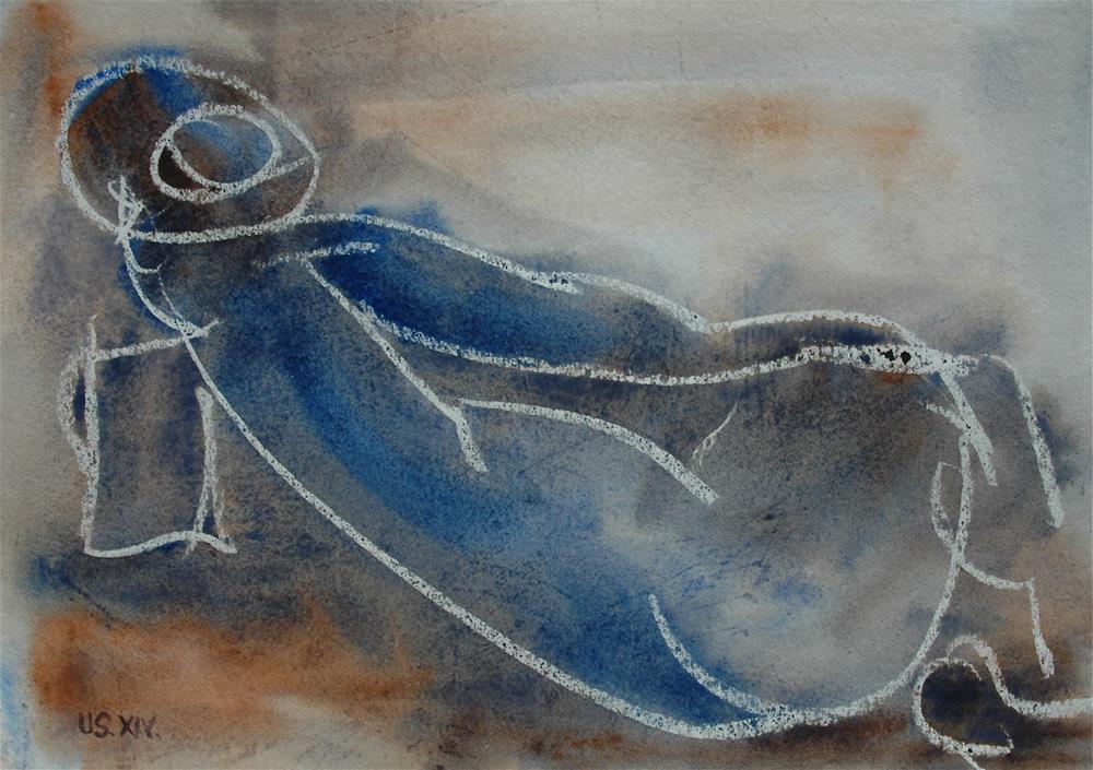 """Untitled"" original fine art by Ulrike Schmidt"