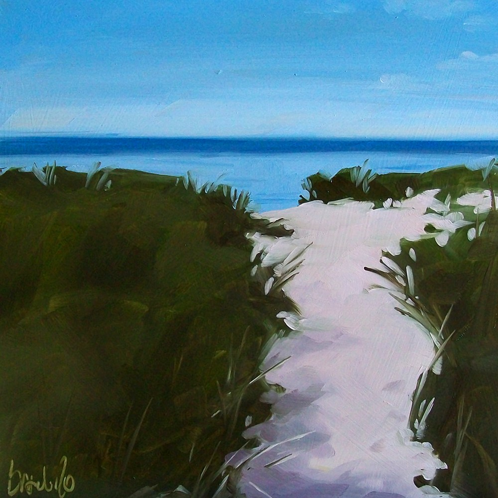 """Path to summer"" original fine art by Brandi Bowman"