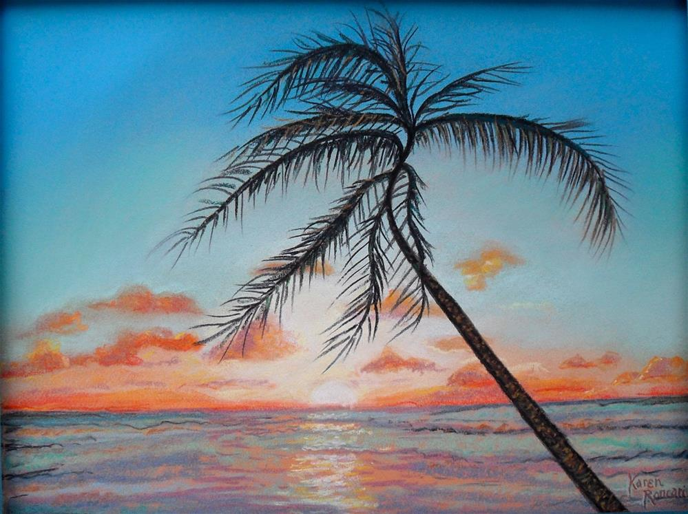 """South Breeze"" original fine art by Karen Roncari"