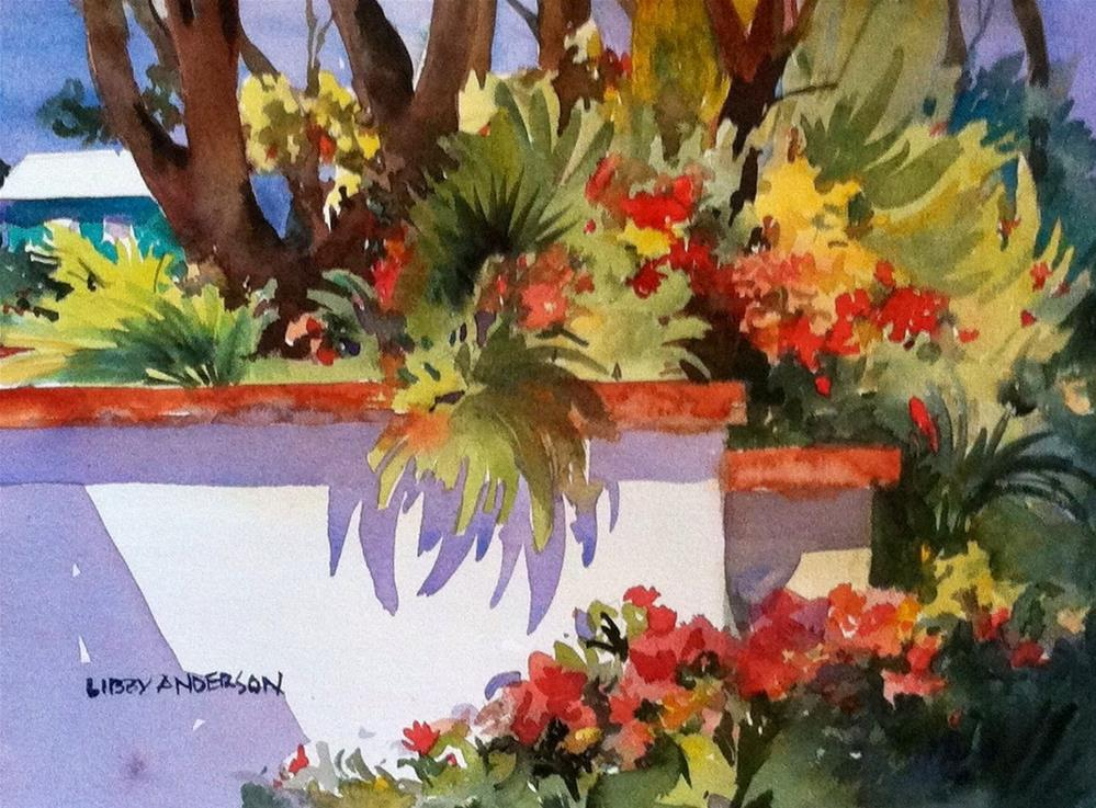 """Florida Wall"" original fine art by Libby Anderson"