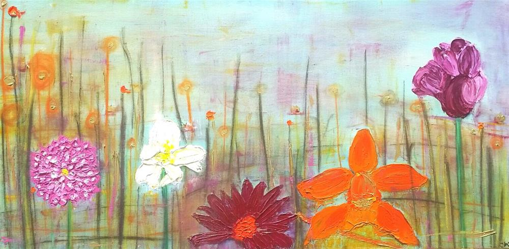 """Bloom I"" original fine art by Christy Tremblay"