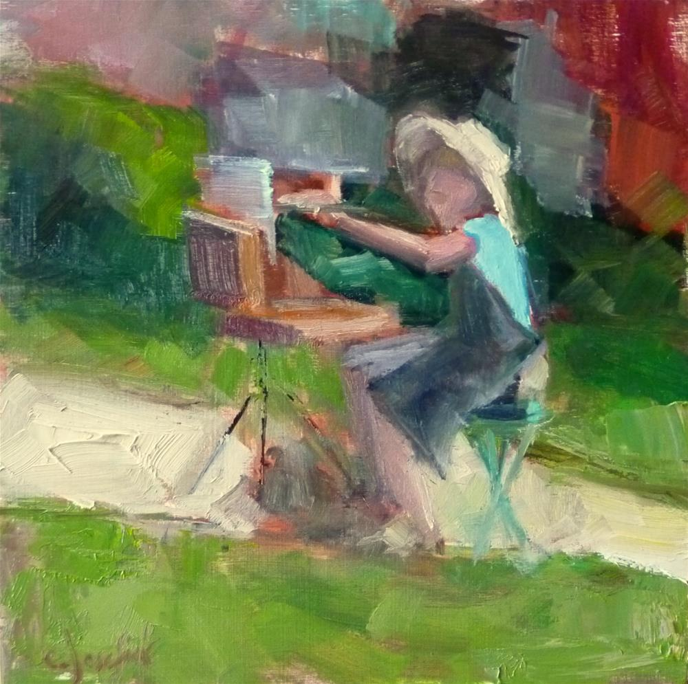 """Plein Air Wednesday"" original fine art by Carol Josefiak"