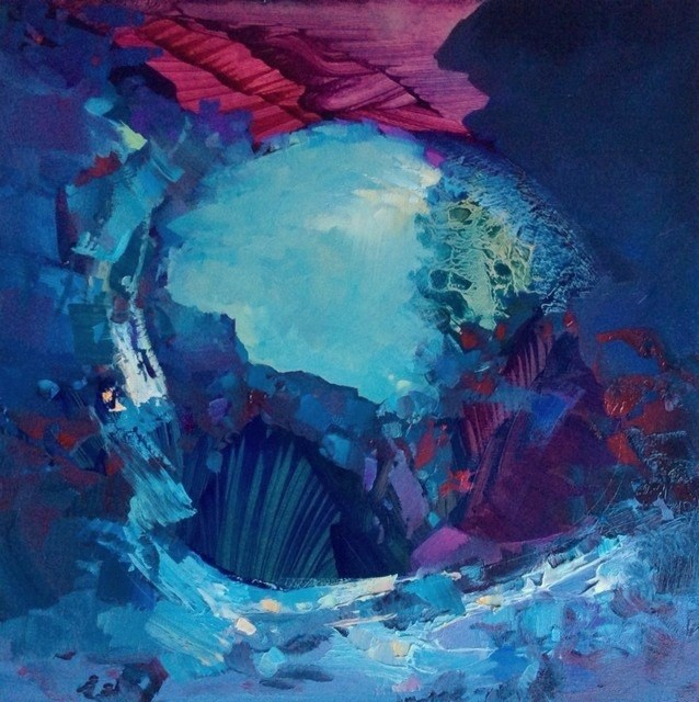 """Bewitching"" original fine art by Anne Wood"