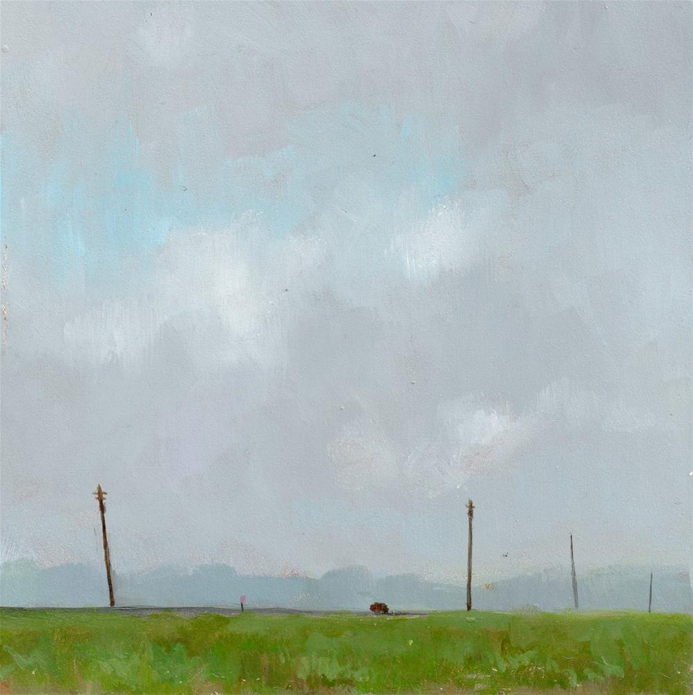 """""""DAILY DIAPER #201 Big Sky Country"""" original fine art by Brian Burt"""