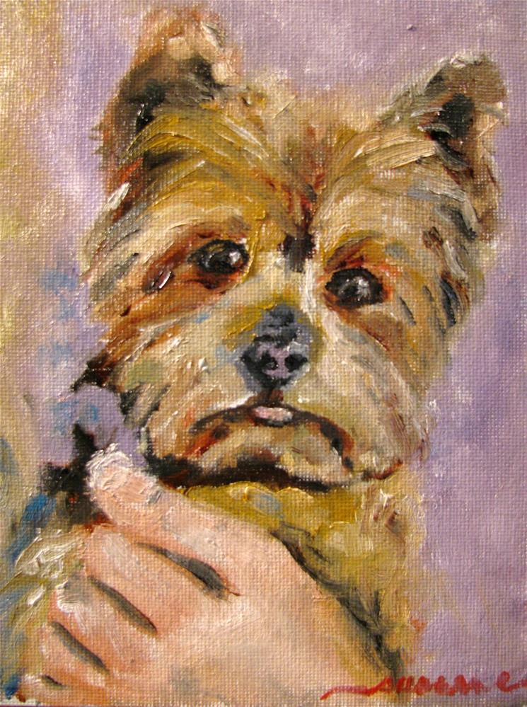 """Baxter, Baron of Brandon Hall"" original fine art by Susan Elizabeth Jones"