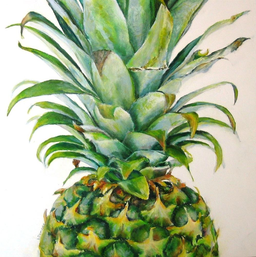 """Pineapple_2"" original fine art by Linda Demers"