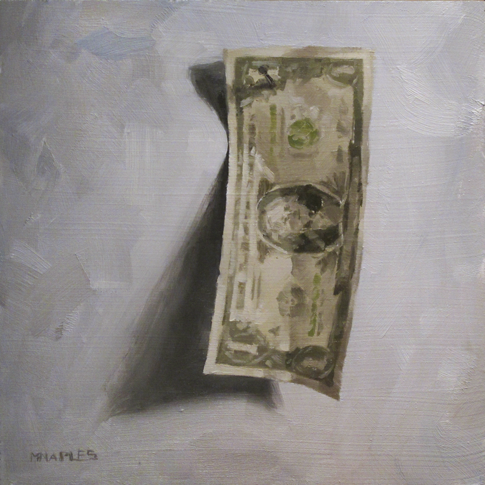 """A Single Single"" original fine art by Michael Naples"