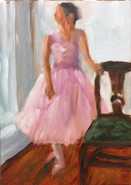 """Ready to Dance"" original fine art by Renee Robison"
