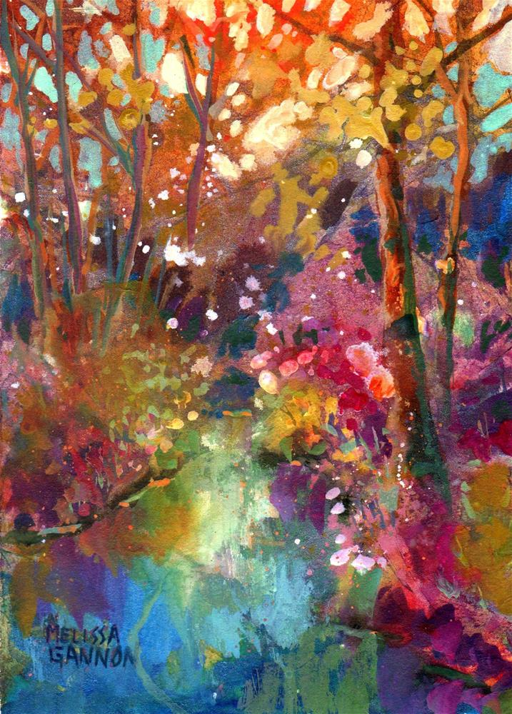 """Spring at Last!"" original fine art by Melissa Gannon"