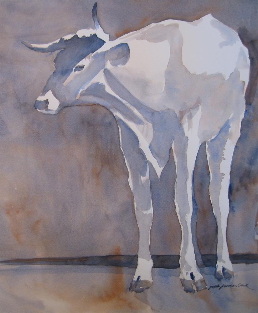 """""""Patience II"""" original fine art by Judith Freeman Clark"""