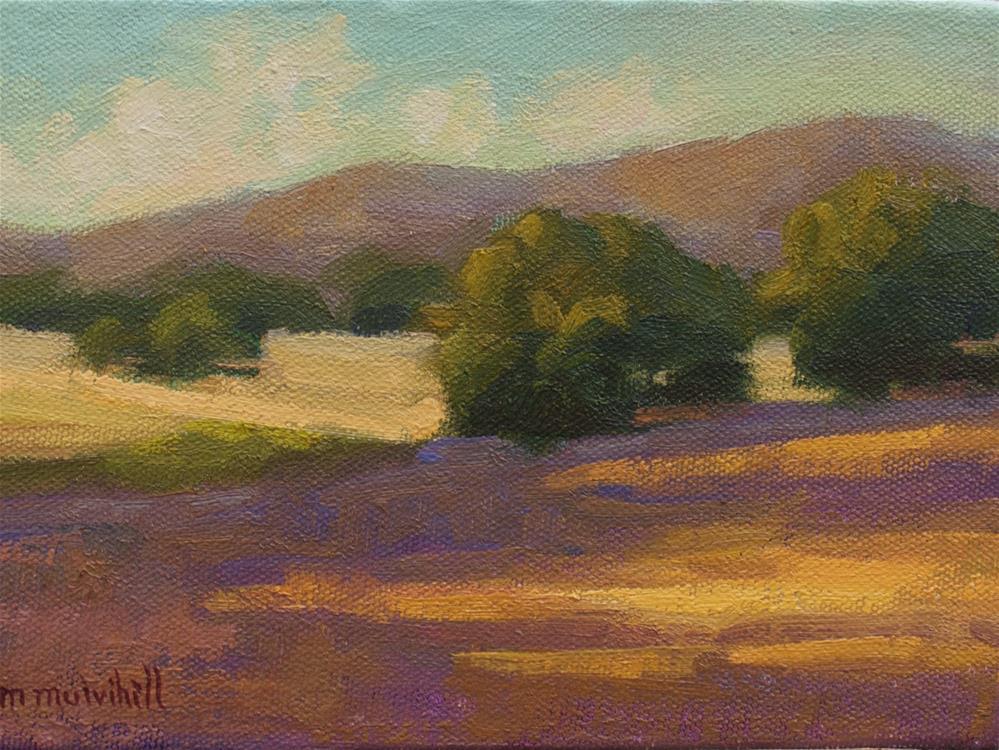 """Last Rays"" original fine art by Mary Mulvihill"