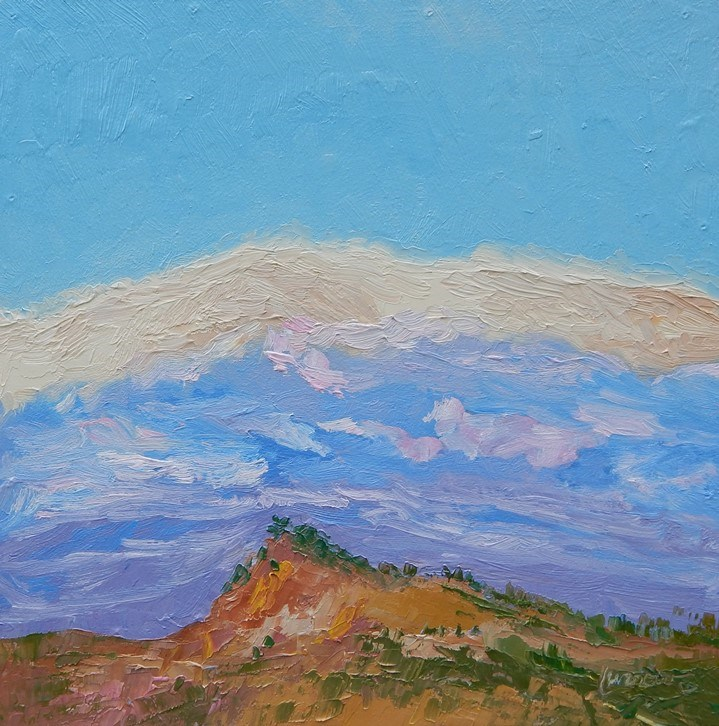 """""""Places in my Heart"""" original fine art by Sue Furrow"""