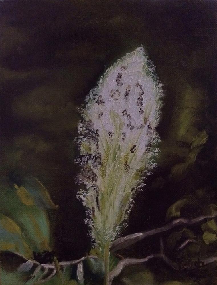 """""""Bear Grass"""" original fine art by Charlotte Lough"""
