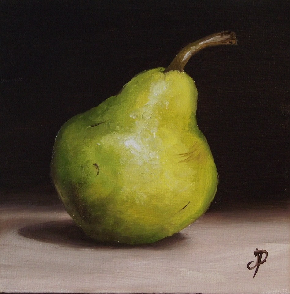"""Little williams pear"" original fine art by Jane Palmer"