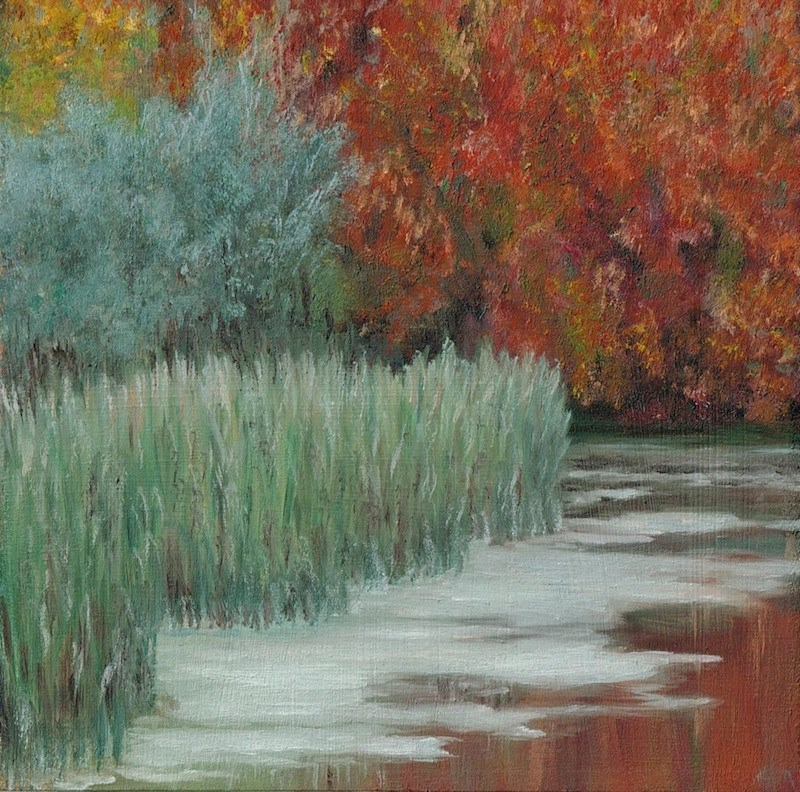 """Glorious Fall"" original fine art by Karen Stitt"