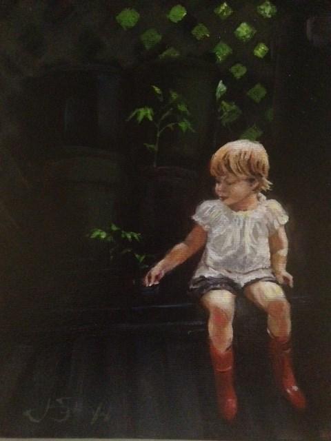 """Clio"" original fine art by  Janet Setterland"