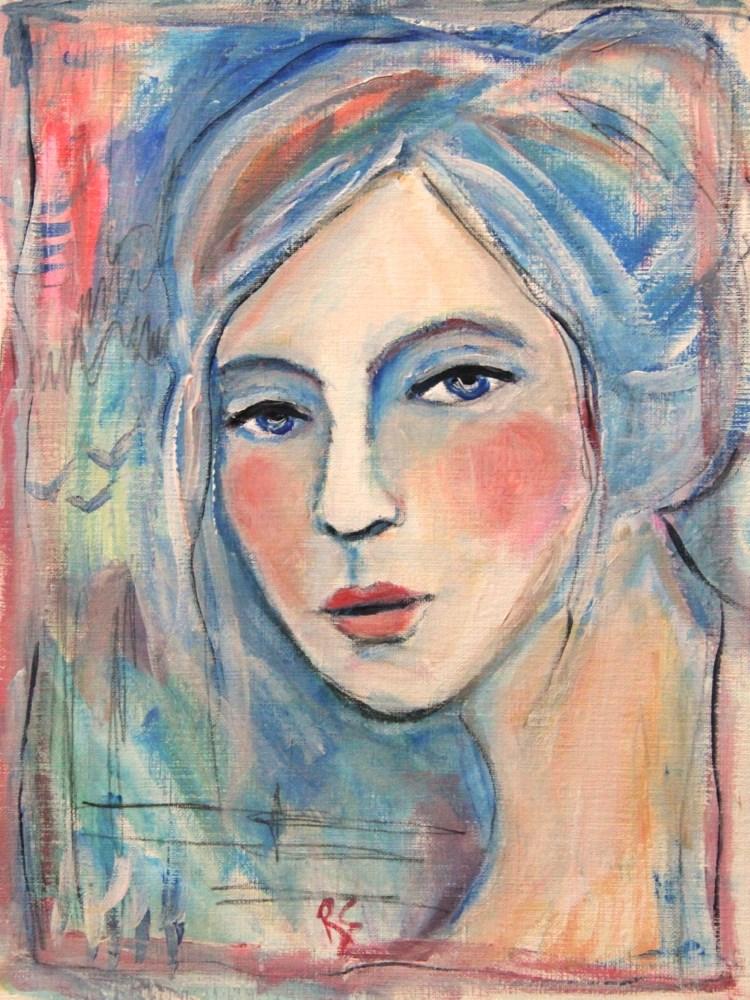 """Eloise"" original fine art by Roberta Schmidt"