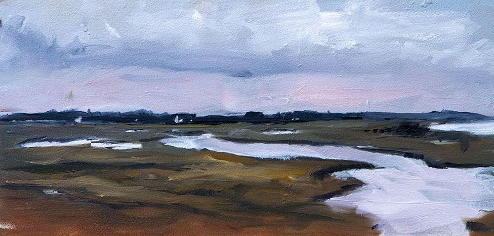 """""""Landscape Challenge #22"""" original fine art by Clair Hartmann"""