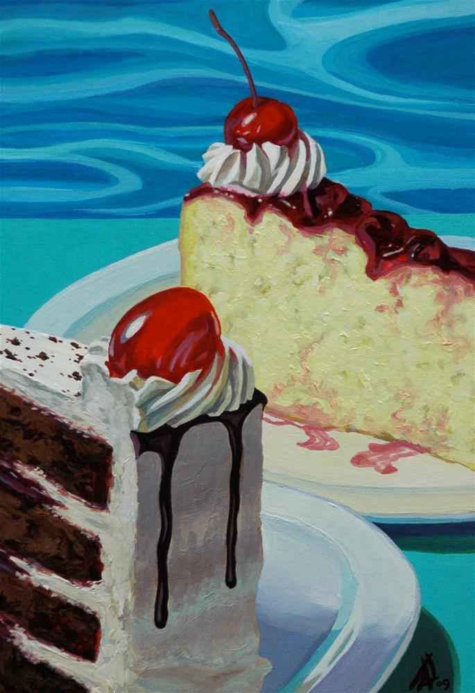 """""""Cherry cherry"""" original fine art by Mark Allison"""
