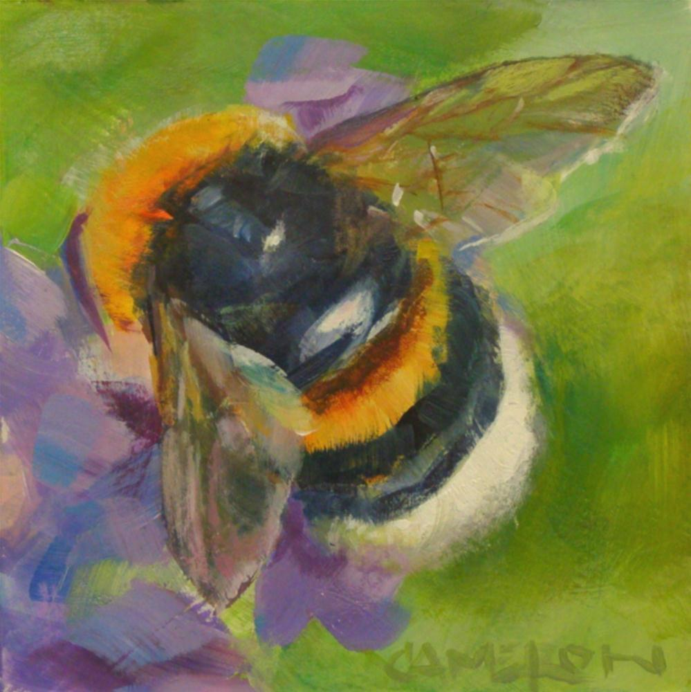 """BUMBLE BEE"" original fine art by Brian Cameron"