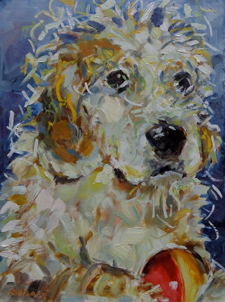 """SPOT"" original fine art by Jean Delaney"