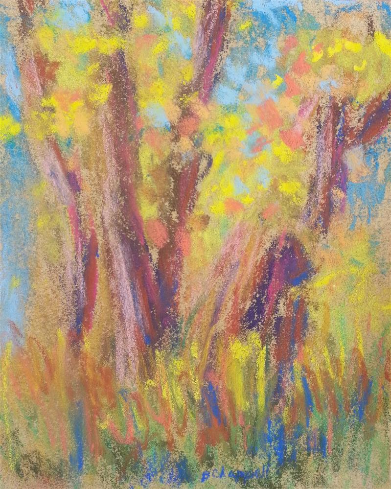 """""""Neversink October"""" original fine art by Becky Chappell"""