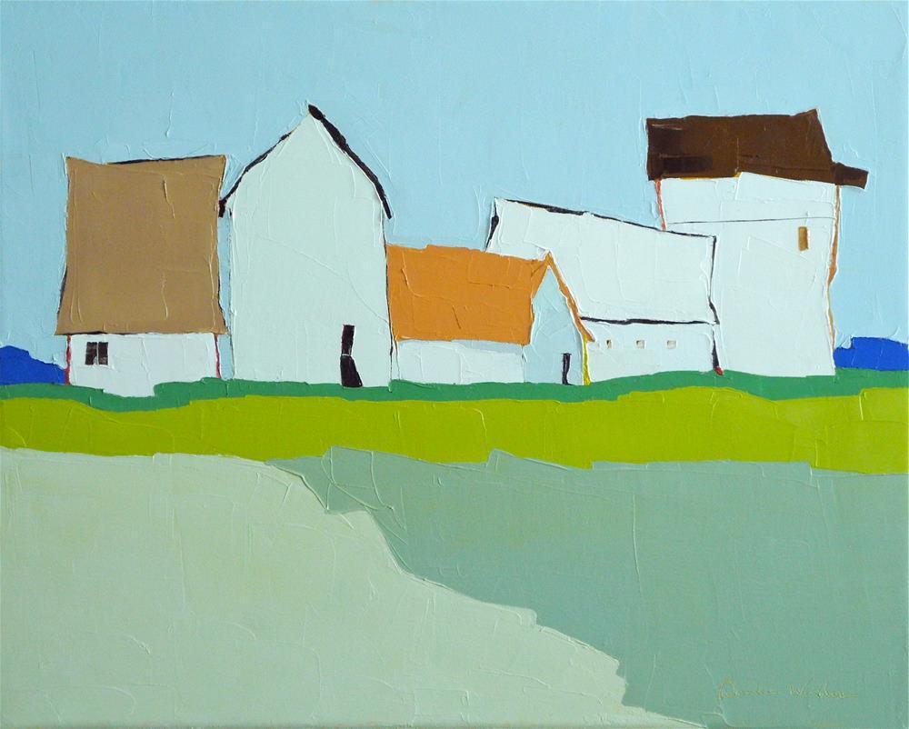 """""""Farmland Jubilee III"""" original fine art by Donna Walker"""