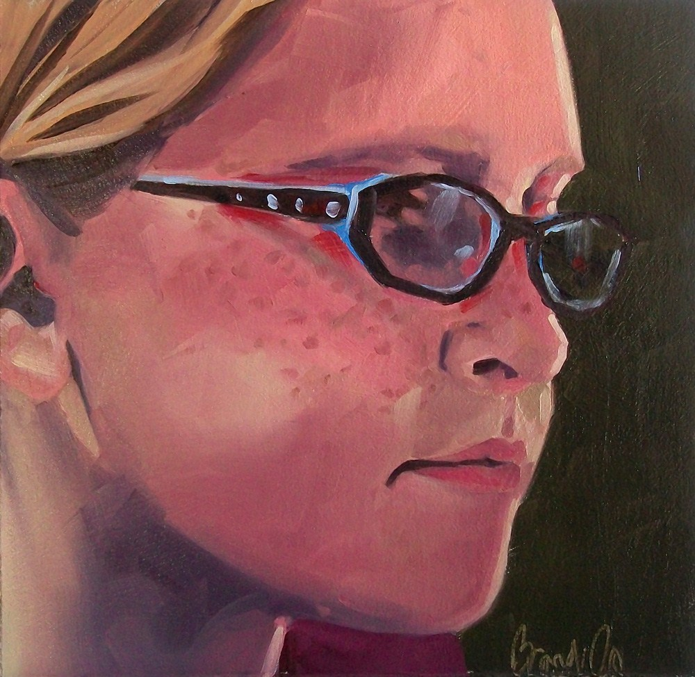 """Girl5"" original fine art by Brandi Bowman"