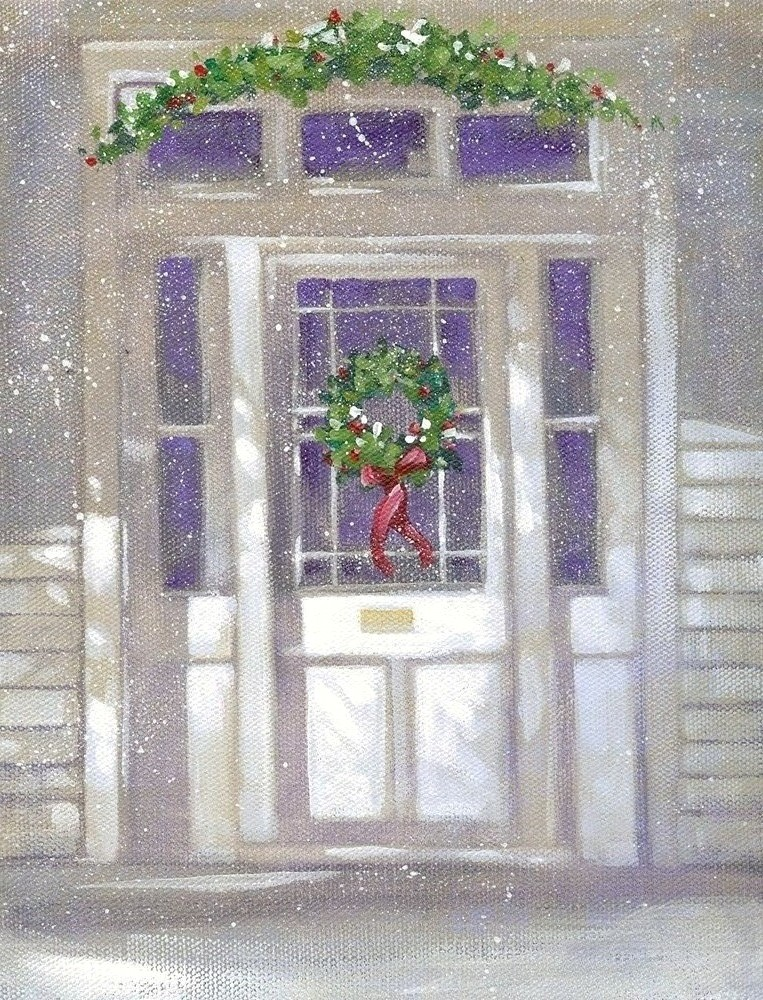 """Welcome Home"" original fine art by Margie Whittington"