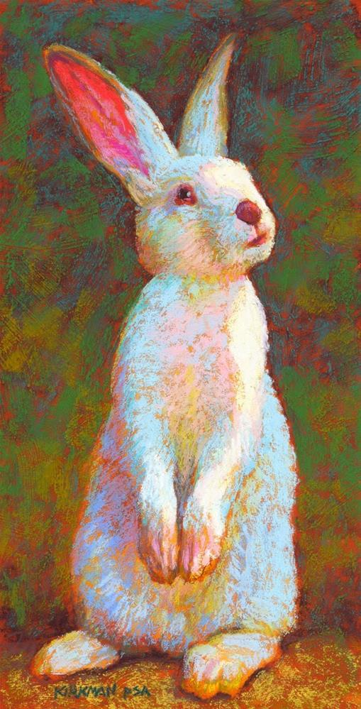 """Monty"" original fine art by Rita Kirkman"